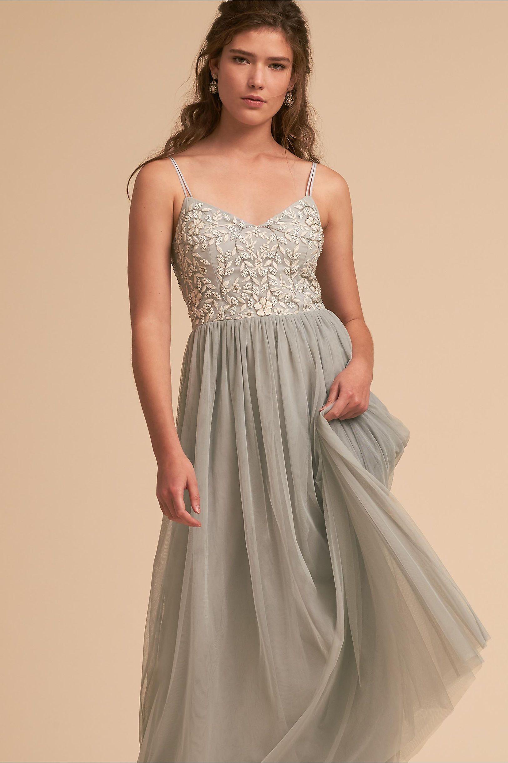 89774d02710 Silver Sage Junior Bridesmaid Dress
