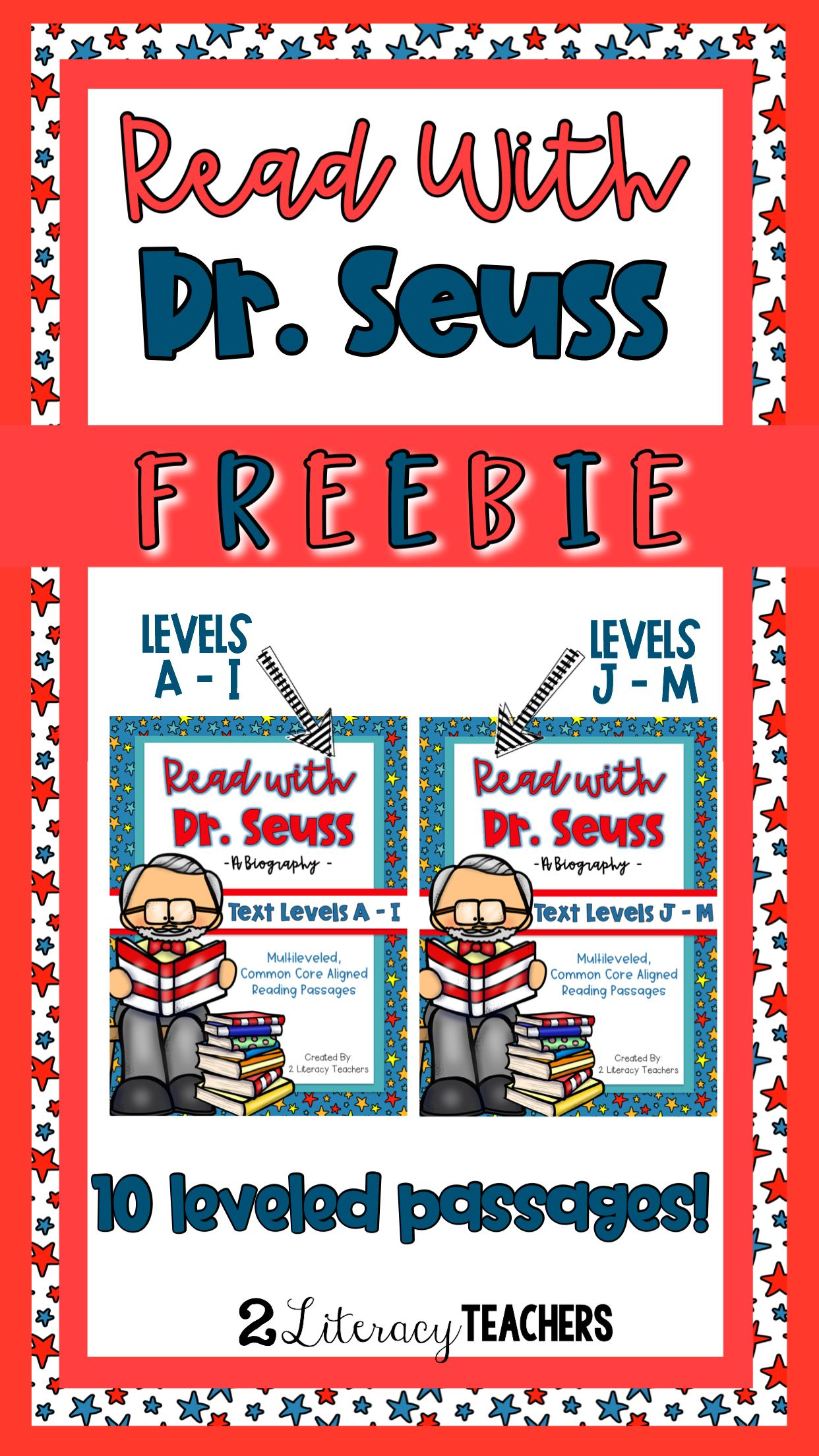Read With Dr Seuss Ccss Aligned Leveled Passages