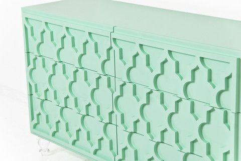 Tangier Dresser in Mint