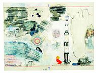 1960's Transfer Drawings  Untitled - Pencil & Watercolor