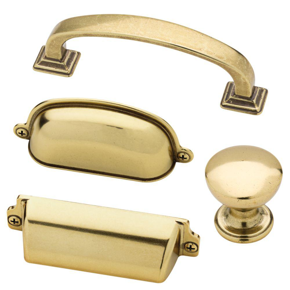 Martha Stewart Living Awning 3 In 76mm Center To Center Bedford Brass Cup Drawer Pull 12 Pack P2 Cup Drawer Pulls Farmhouse Hardware Martha Stewart Living