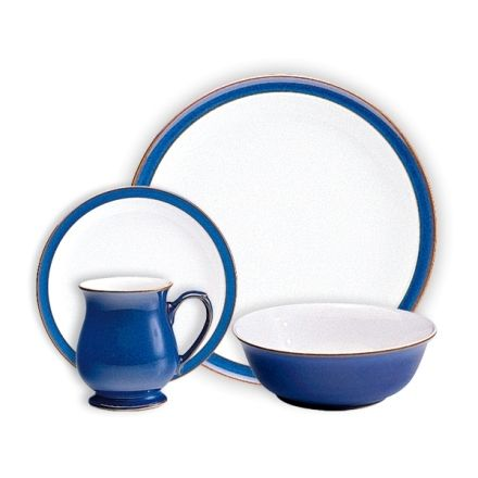 Save 40 Off Denby Pottery Imperial Blue Dinnerware Denby