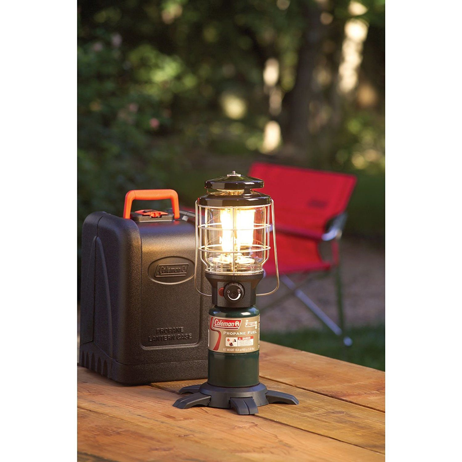 Amazon Com Coleman Northstar Propane Lantern With Case Sports