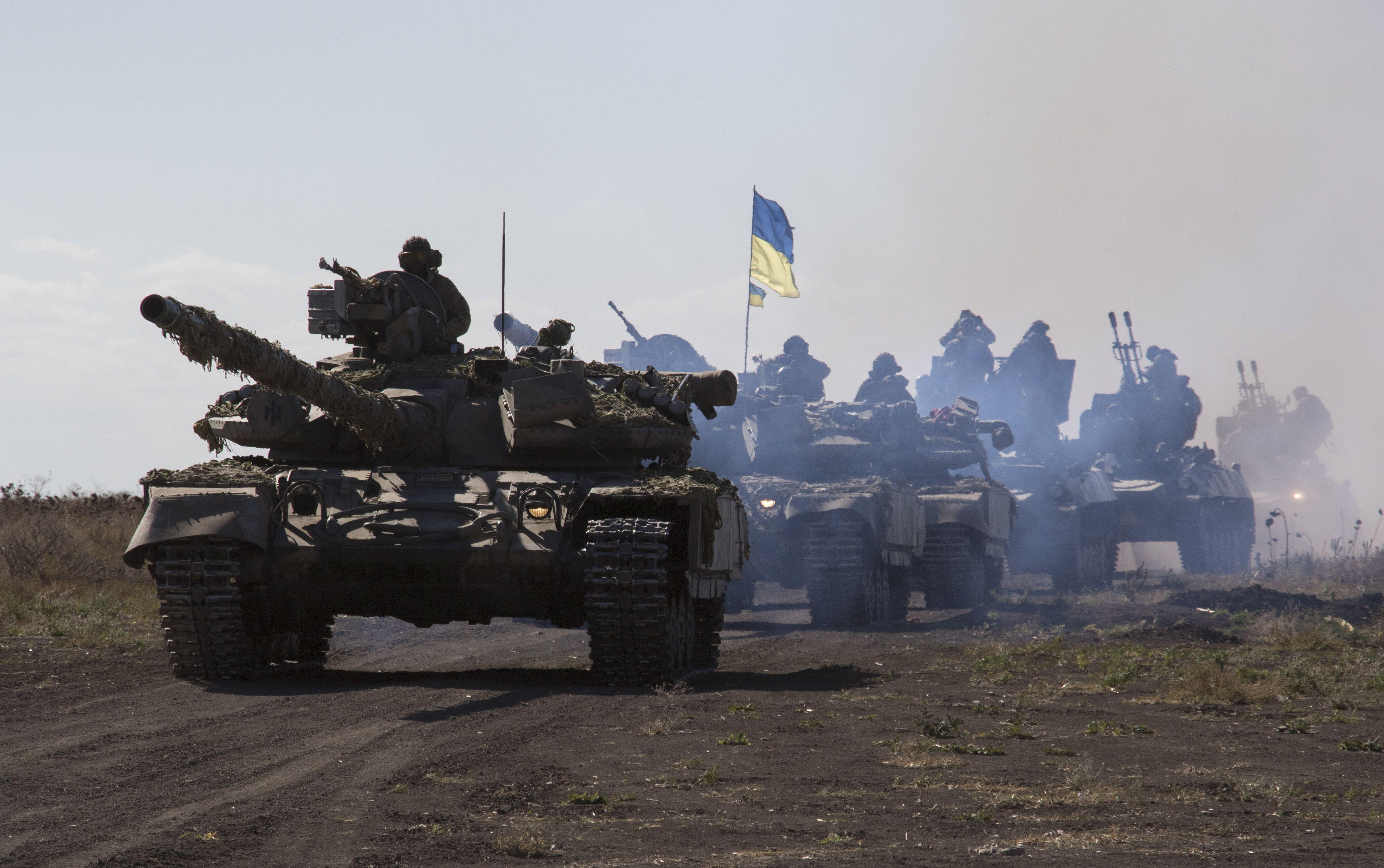 Ukraine Peace Process Flounders Ukrainian tanks, Tank