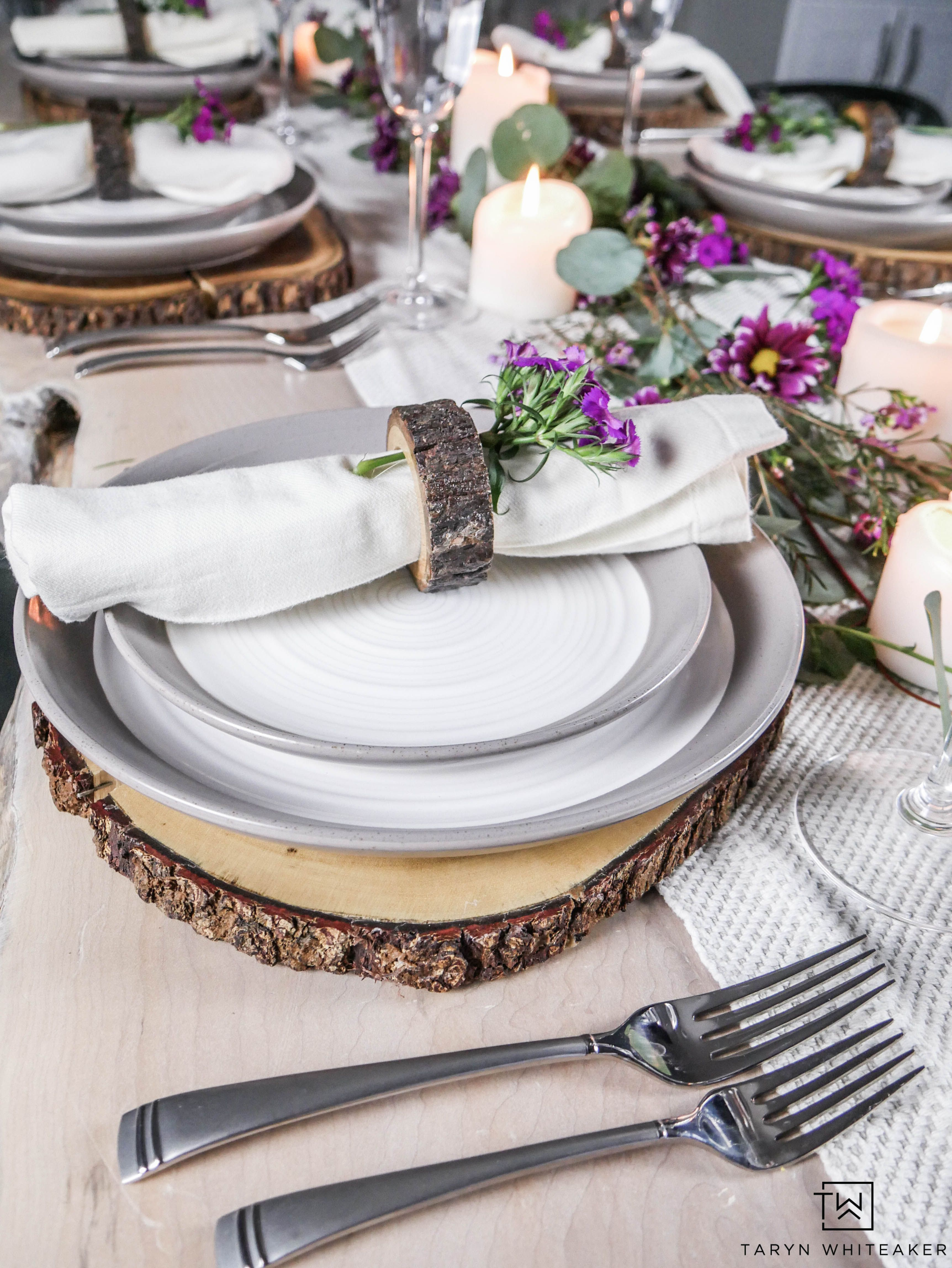 Beautiful table setting for spring! Perfect for Valentine\u0027s Day Spring Easter or just & Beautiful table setting for spring! Perfect for Valentine\u0027s Day ...