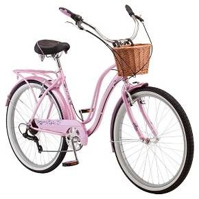 Schwinn Women S Lulu 26 Cruiser Bike Pink White In 2020 Schwinn Bike Cruiser Bike Schwinn Bicycles
