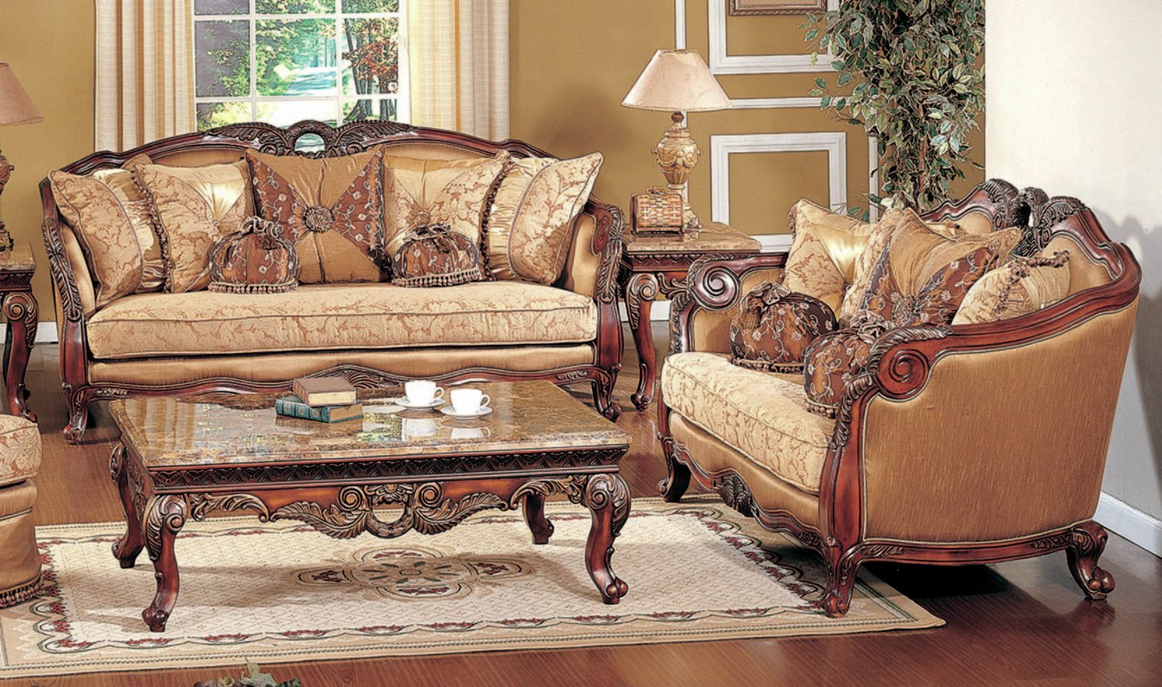 Denmark Sofa and Loveseat Set | Products | Traditional living room ...