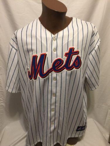 01a480d2 MLB-New-York-METS-JOSE-REYES-7-Majestic -Genuine-Merchandise-Jersey-XXL-NWT-NYC