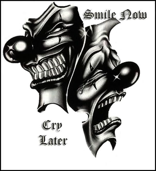 smile now cry later image by youngster1 photobucket smile now cry later pinterest crying. Black Bedroom Furniture Sets. Home Design Ideas