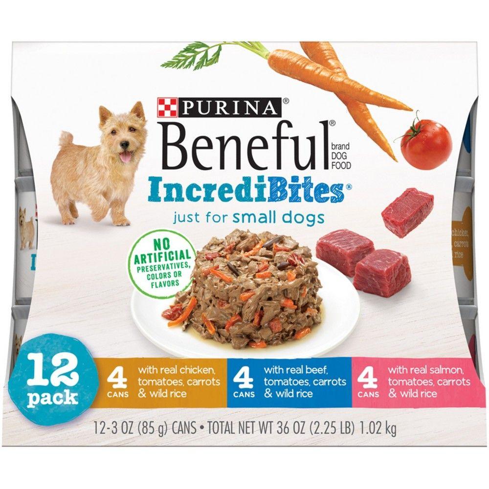 Beneful Incredibites Beef Chicken Salmon Variety Pack Wet