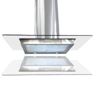Windmax 36 34 Brand New Ventless Ductless Stainless Steel Glass Range Hood Kitchen Hood Wall Mount Chimney St Glass Range Hood Ductless Range Hood Range Hood