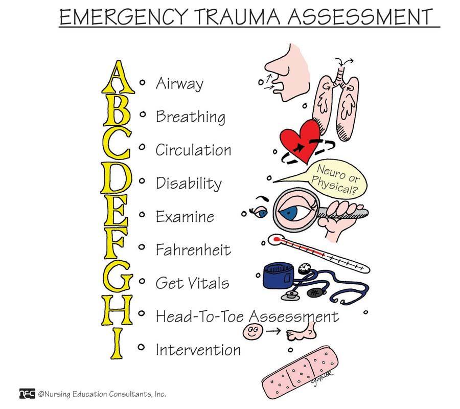 Trauma Assessment Neumonic