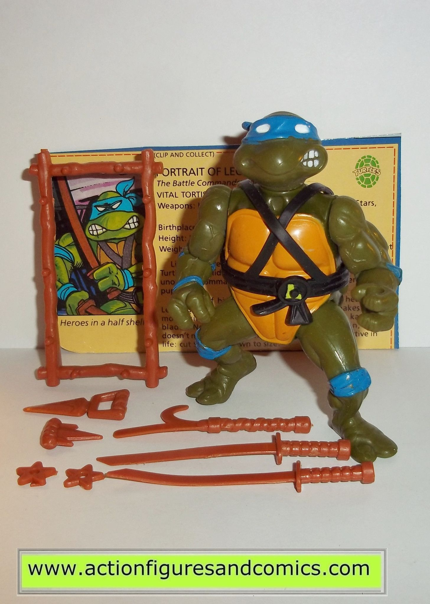 Modern 1988 Teenage Mutant Ninja Turtles Figure of YOUR CHOICE TMNT Vintage