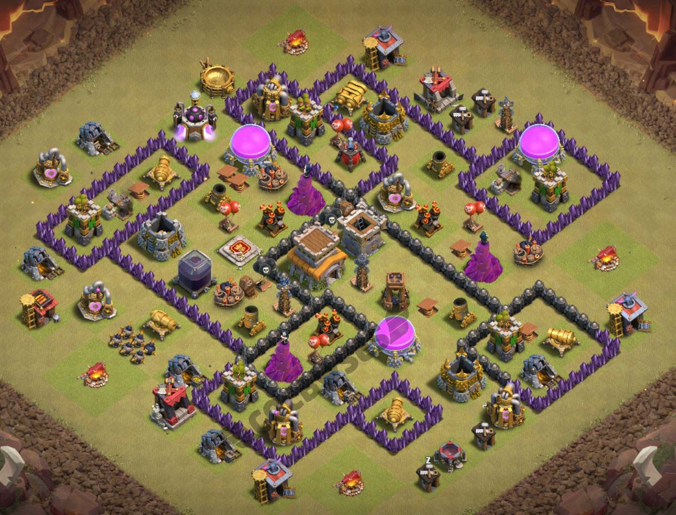 32 Best Th8 War Base Links 2021 New Anti Dragons Clash Of Clans Game Clash Of Clans War