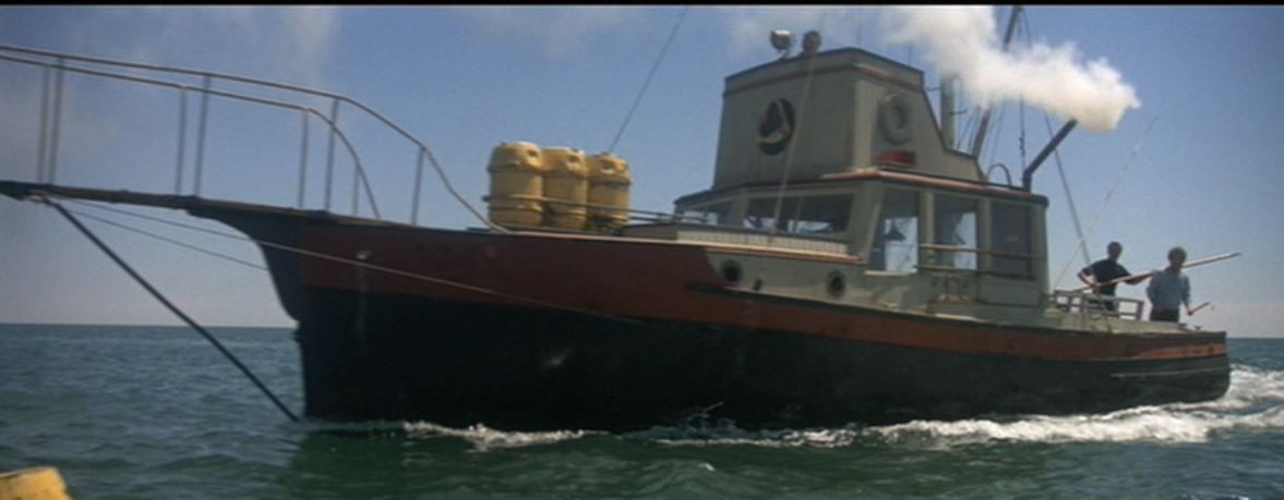Quint's boat, the Orca | The Orca from JAWS | Pinterest