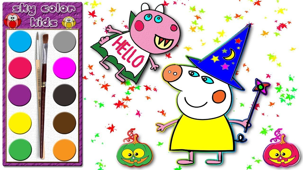 peppa wutz 🎃halloween peppa pig und kleid für halloween