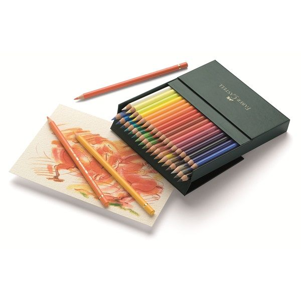 Faber Castell Color Pencil Polychromos Studio Box Of 36 Coloured