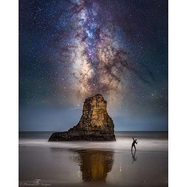 Just love coastal milkyway shots! Our friends @rawcalifornia bringing us fantastic captures! Photo by @fzaidi13 - Davenport  Please follow @rawcalifornia for more incredible photos!  #milkyway #night #astro #stars #beach #ocean #longexposure #water #nature #instanature #naturelovers by traveling_the_blue_planet