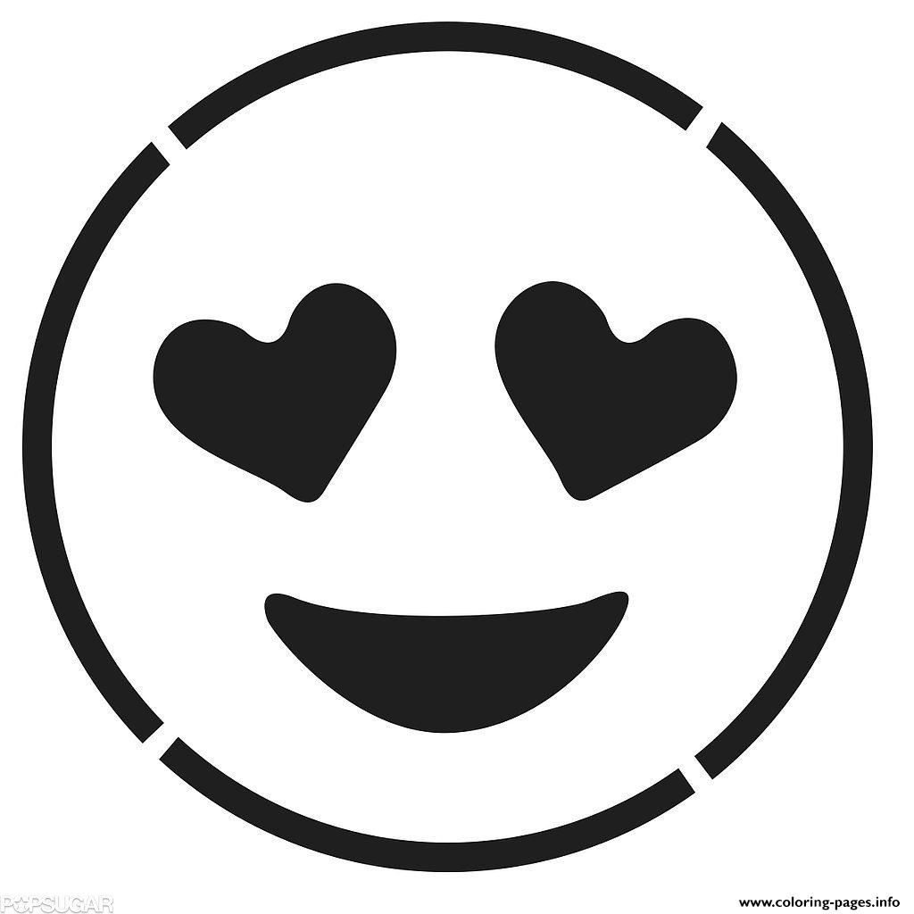 Printable coloring pages emoji - Print Laughing Face Emoji Black And White Smiling Face With Hear Coloring Pages Coloring Pages Pinterest Laughing Face Smiling Faces And Coloring