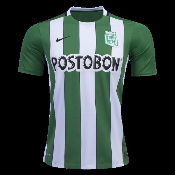 759fdc48a73 Atlético Nacional Home Jersey 2016 17 - Represent Atlético Nacional