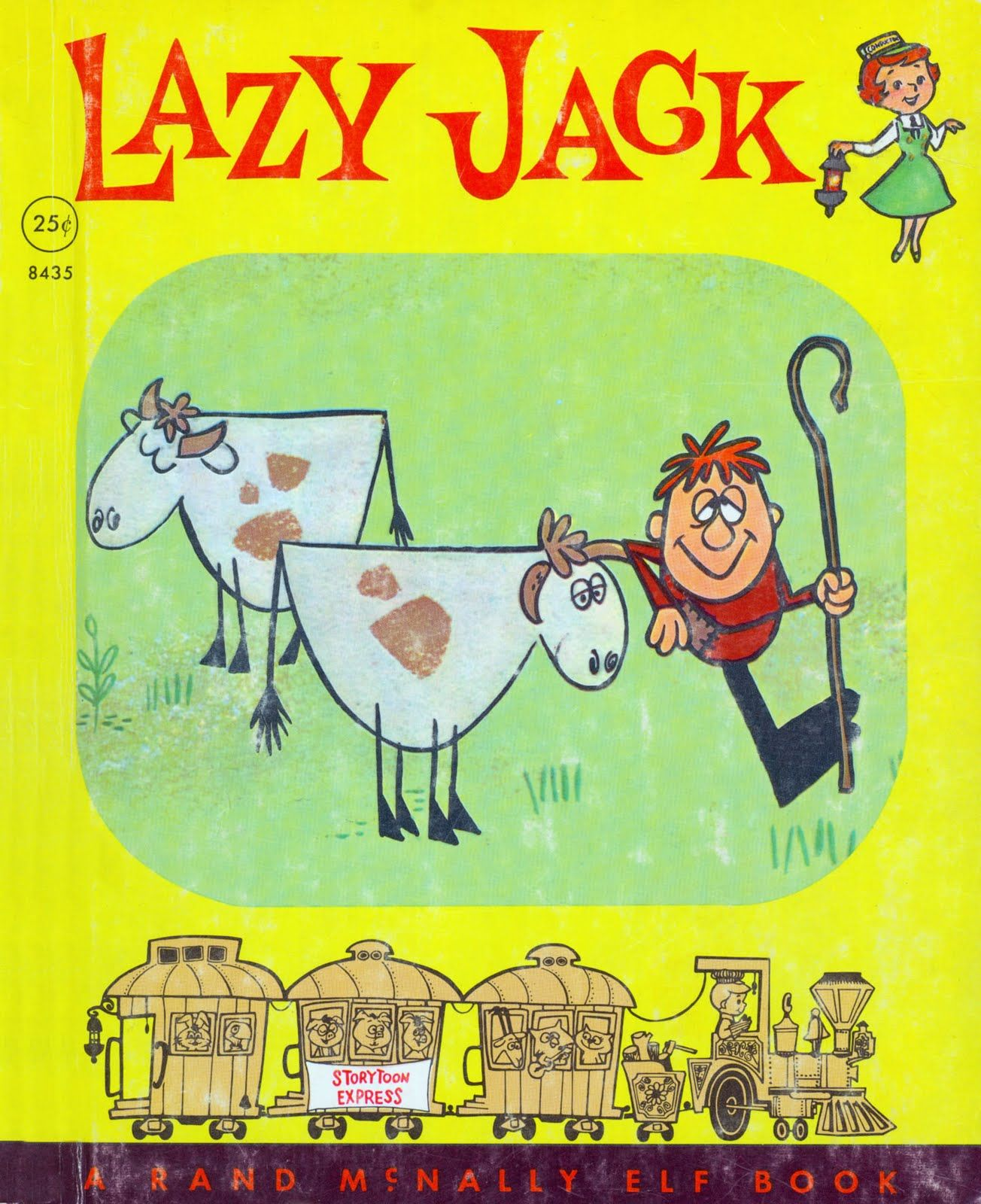 """Lazy Jack"" Illustrated by Frank Hursh Written by Margie"