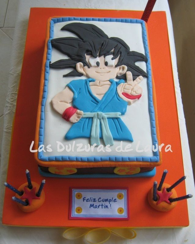 Dragon Ball Z Birthday Cake Images Birthday Cake Ideas