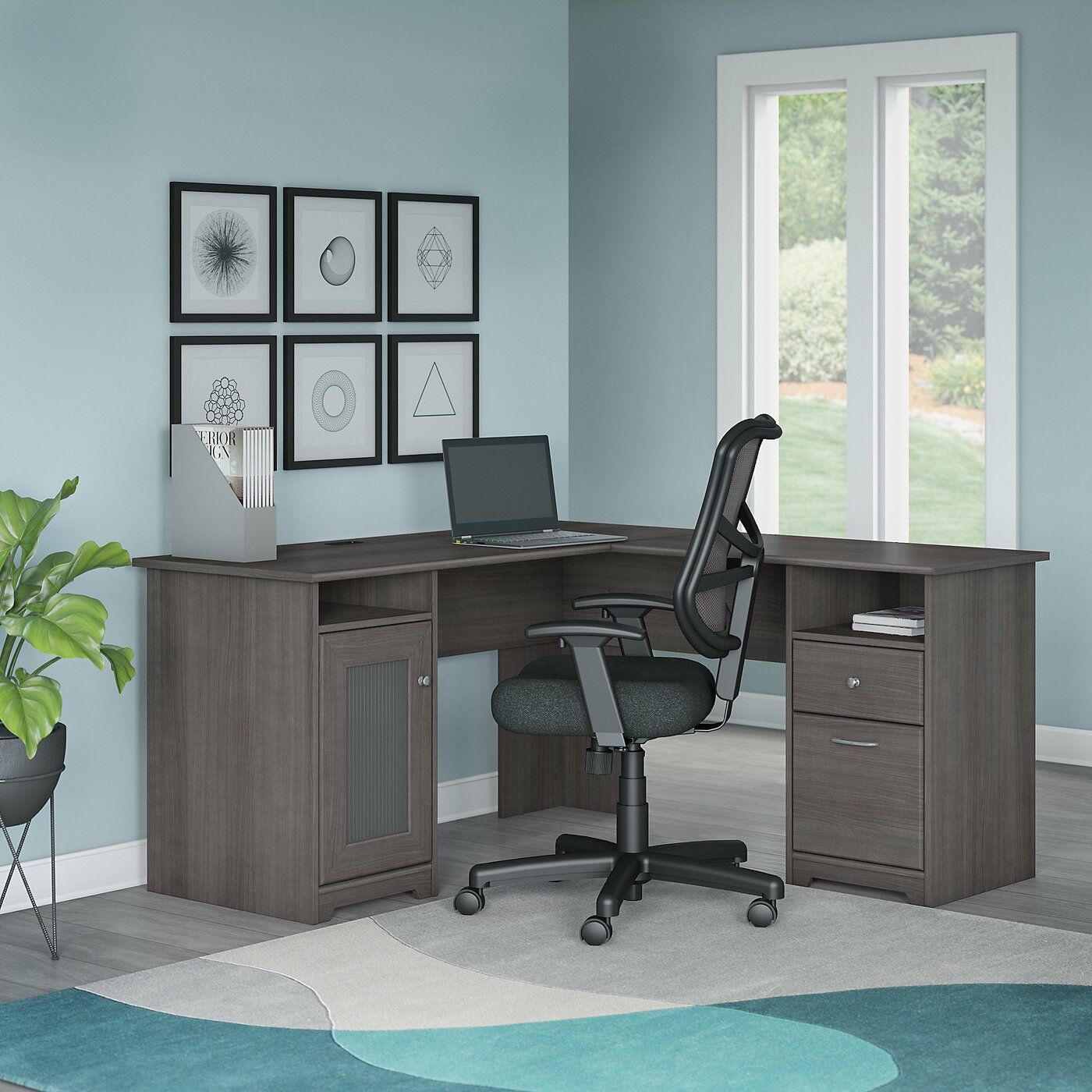 Hillsdale L Shape Desk And Chair Set Desk And Chair Set Furniture Affordable Office Furniture Office desk and chair set