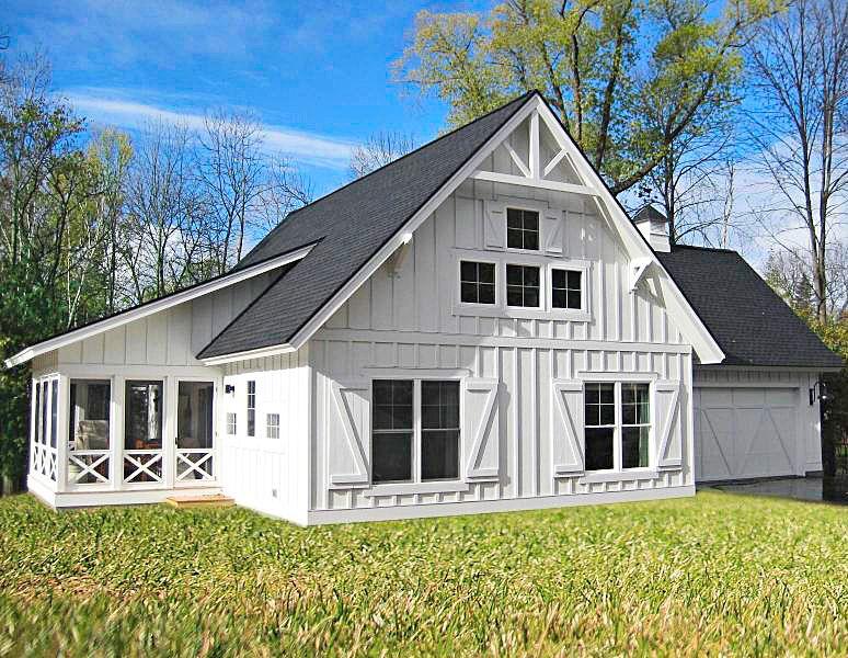 House Tour Budget Savvy Dream Cottage Barn Style House Dream Cottage Barn House Plans