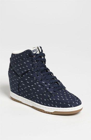wholesale dealer 01632 7be92  125.00 Nike  Dunk Sky Hi  Wedge Sneaker (Women)   Nordstrom (obsidian dark  brown sz 12)