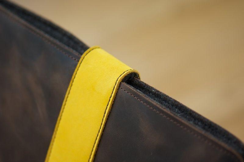 Diese Bicolor iPad Mini Tasche ist das neueste Produkt aus der filz:stueck Manufaktur.   88,00 € | #ipadmini #ipad