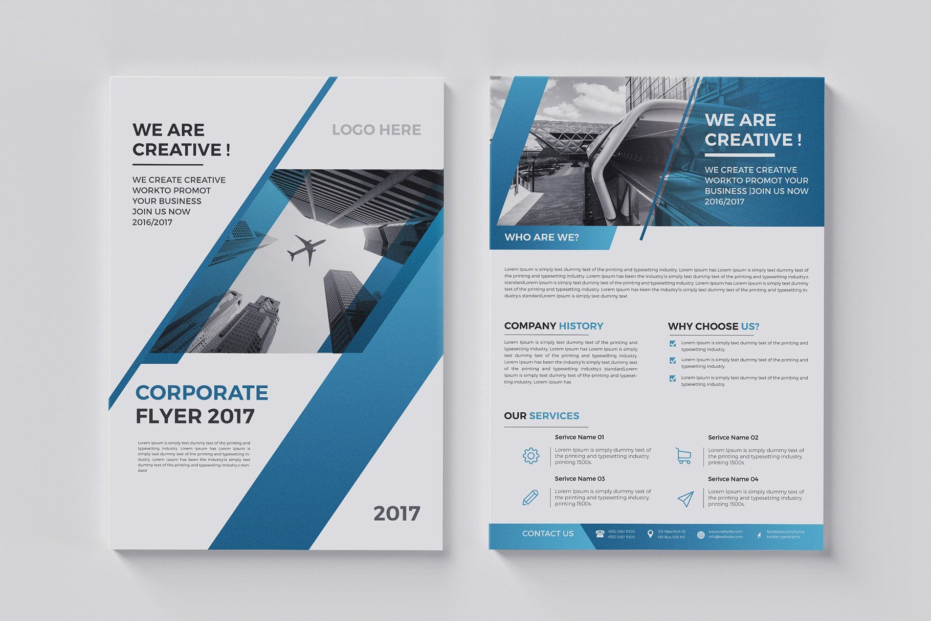 20 Corporate Flyer Double Sided With