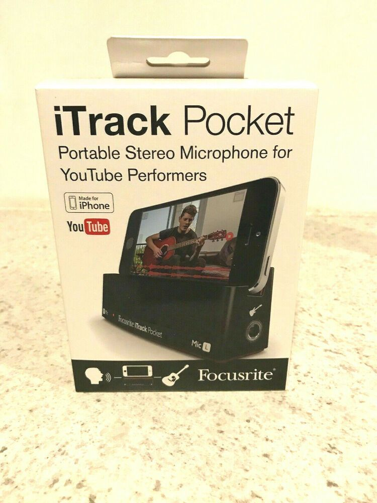 Focusrite iTrack Pocket Stereo Microphone for YouTube Performers