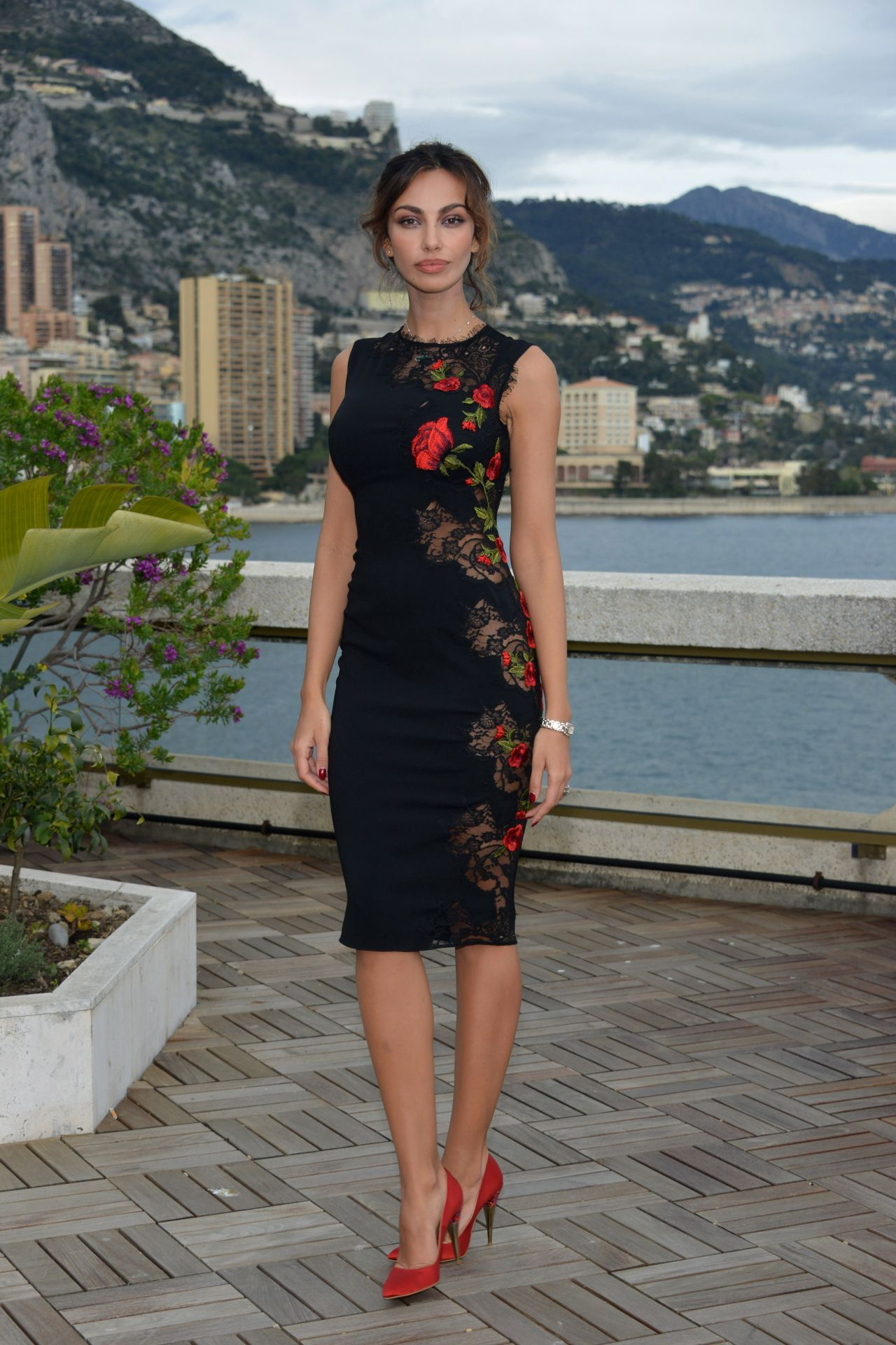 may 2016 madalina ghenea - Google Search needs to be more modest no see-through other than that, this is on my dress style