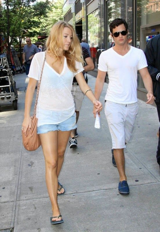blake lively style guide flirty summer casual blake