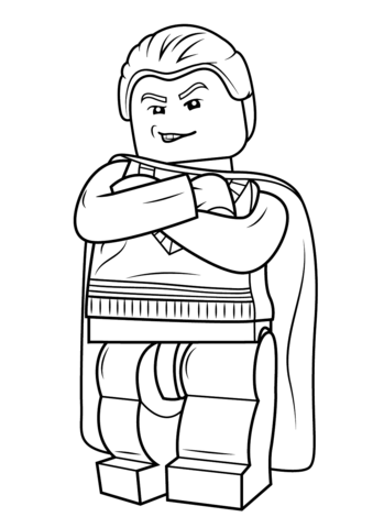 Lego Draco Malfoy Coloring Page Harry Potter Coloring Pages Lego Coloring Pages Harry Potter Colors