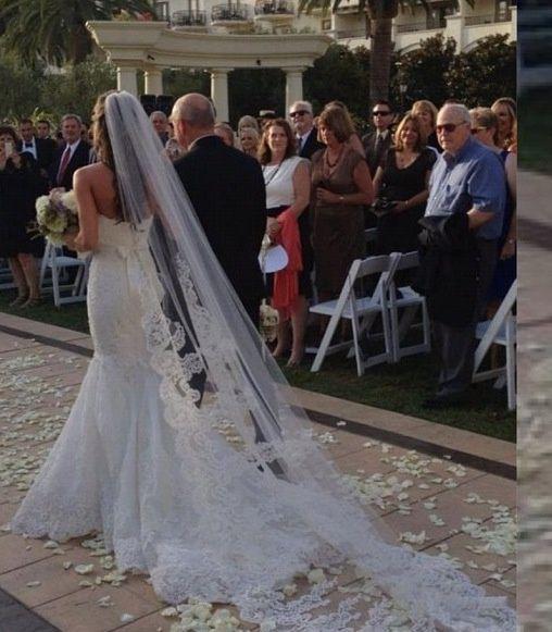12 besten brautkleider mit langem schleier | Wedding dress, Wedding ...