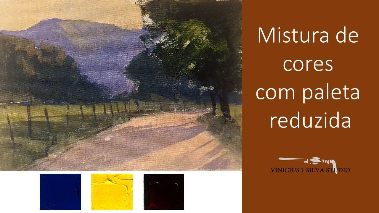 Mistura de cores  Vídeo aula 1 Vinicius F.Silva