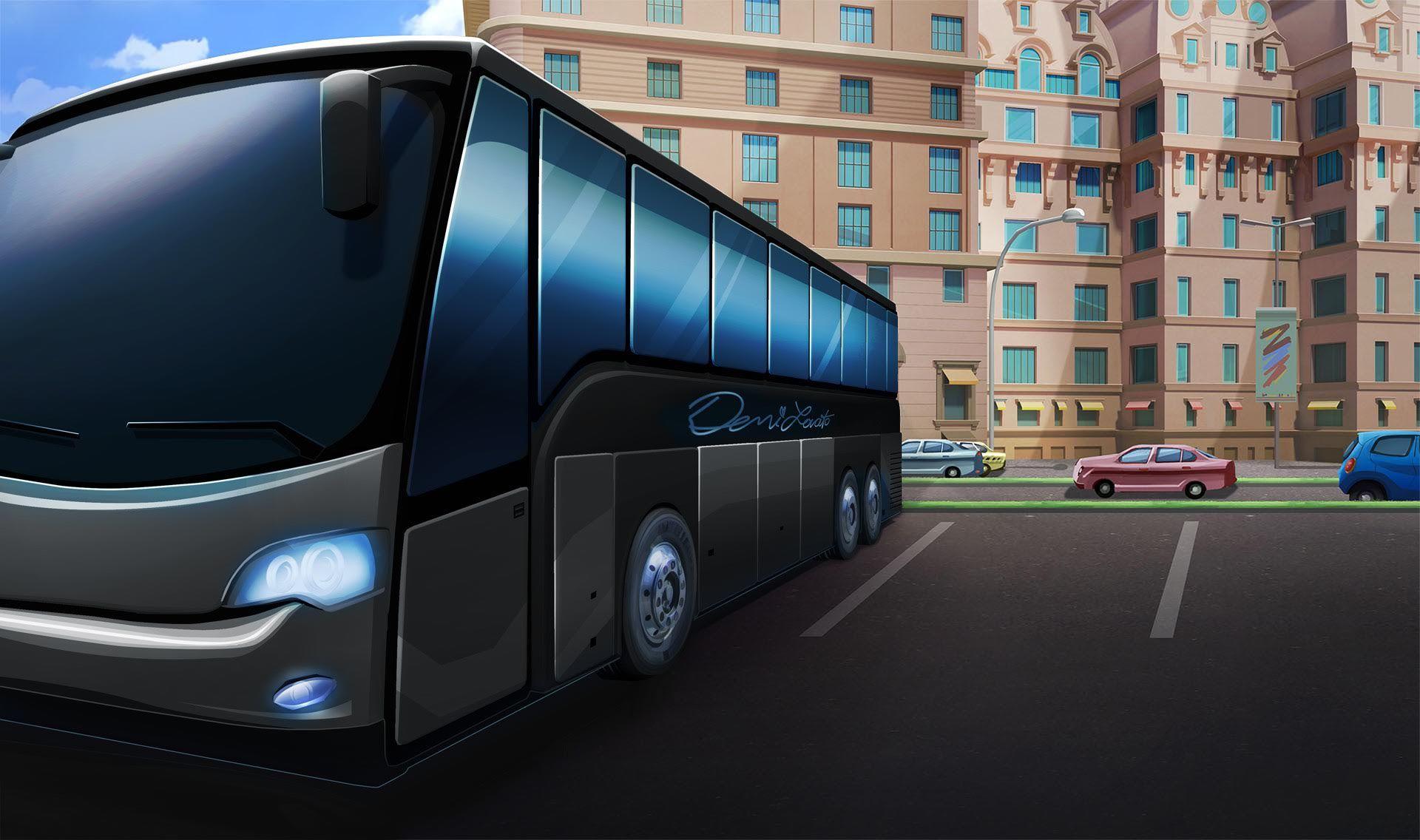 Ext Demi Tour Bus 2 Day Episode Backgrounds Episode
