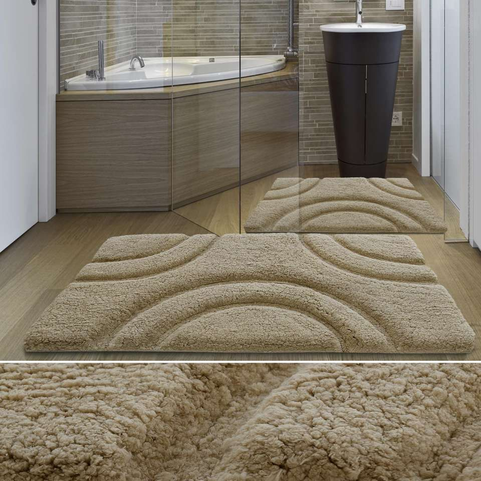 16 grand tapis salle de bain