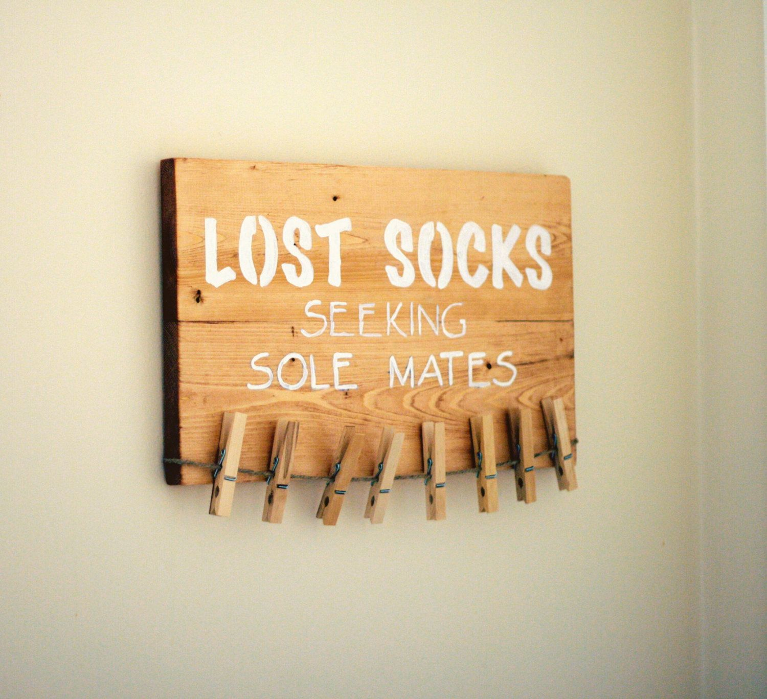 Laundry Room Sock Sign Lost Socks Sign Lost Socks Seeking Sole Mate Sign Laundry Room