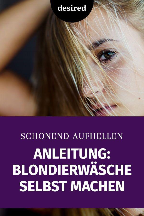 Anleitung: Blondierwäsche ganz easy selbst machen