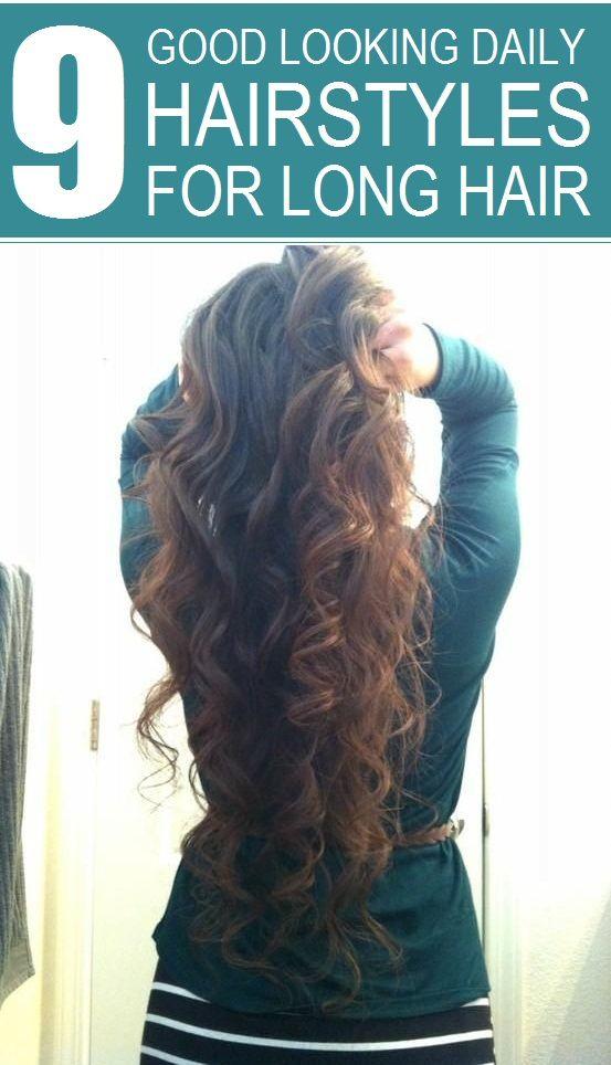 Best 25 Hairstyle For Long Hair Ideas On Pinterest Hair