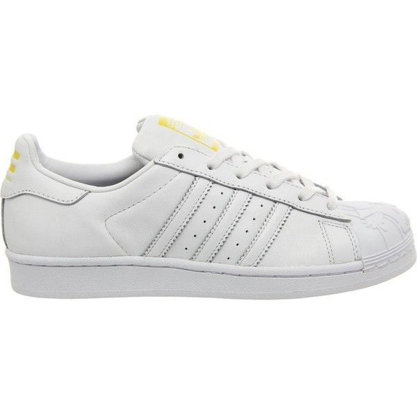 ADIDAS Todd James Superstar Supershell trainers ( 135) ❤ liked on Polyvore  featuring shoes 27cceed2f