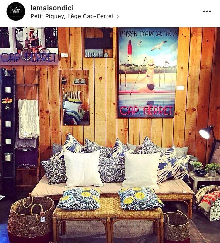 La maison d\u0027ici au Cap Ferret Popette Dessine Pinterest Ferret