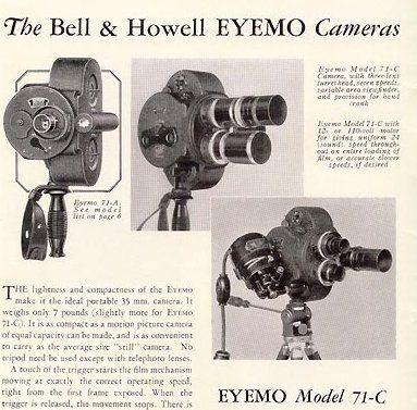 Eyemo 35mm Camera
