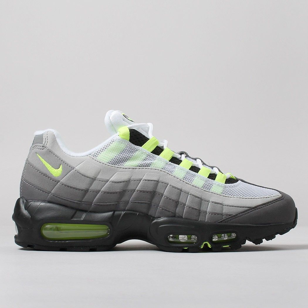 60d834619a8a Nike Air Max 95 OG Shoes - Black Volt