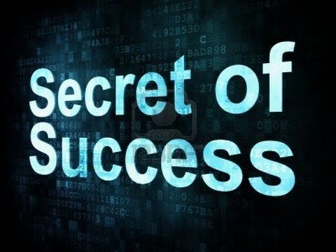 This Is The Real Secret Of Success Enjoy!