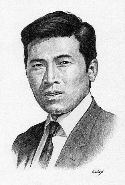 Akira Takarada by Mark Maddox