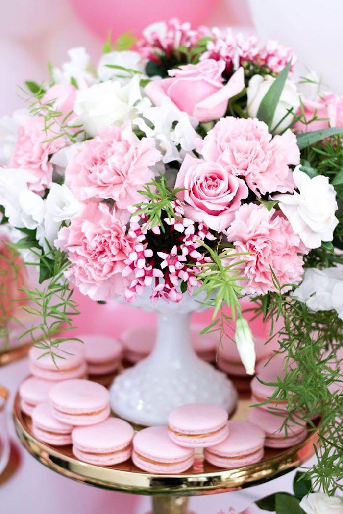 Secret Garden: Pink + White + Gold Garden Party