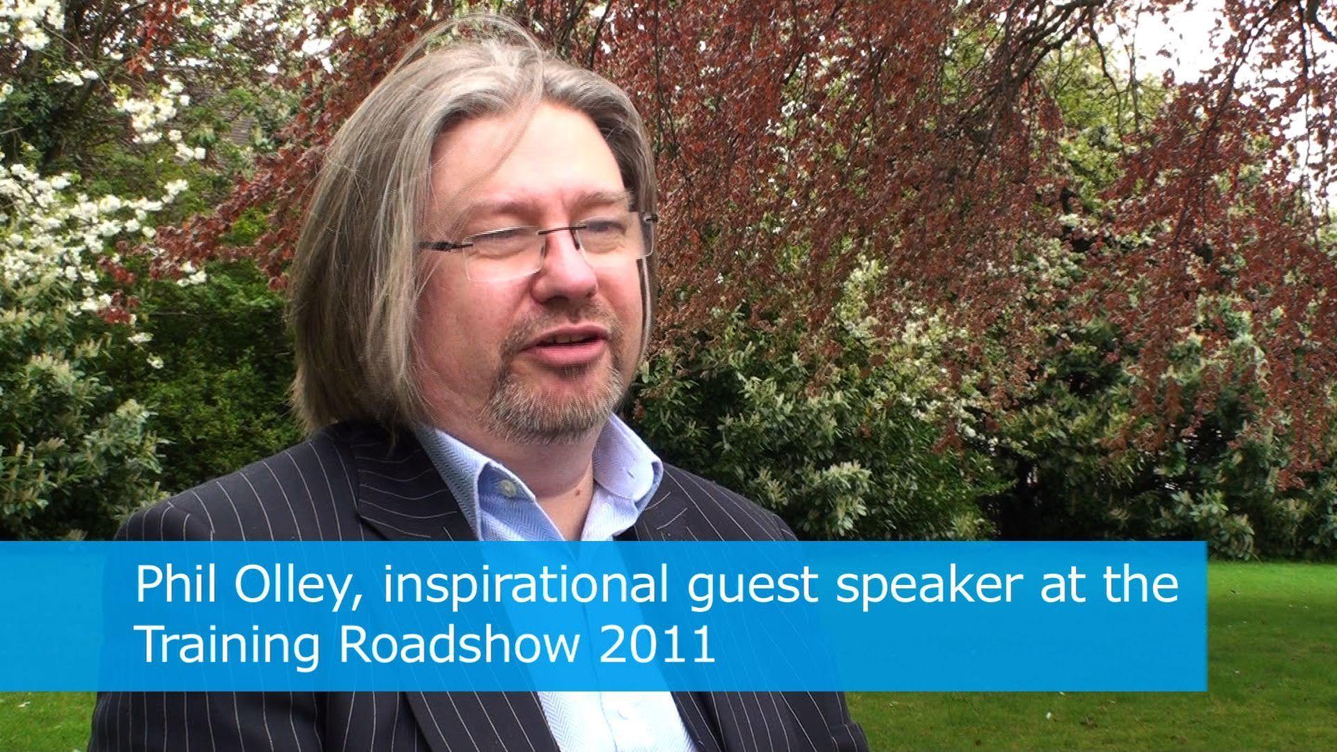 Training roadshow guest speaker Phil Olley in 2011. Peak